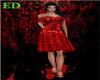 *ed* red rose