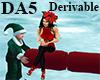 (A) Christmas Elf Sofa