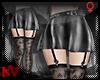 ✚Pleated SatinBW-Skirt