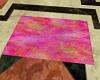 colorful pink rug