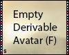 S|Empty Derivable (F)