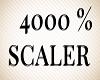 Avatar 4000 % Scaler