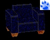 [O] Blue Lounge Chair