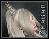 [Z] Ponytail blonde V1