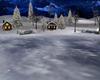 Christmas Snow Cabin