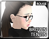 |2' Darkbrown Tenzin