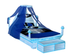 BR)CHILD BLUE HORSE BED