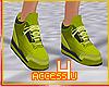! Retro Lime Sneakers