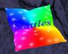 Skittles Cuddle Pillow