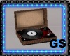 """GS"" OLD RECORD PLAYER"