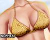 NP. Snake Bikini Top