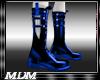 (M)~Blade  Boots Blue
