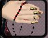 *E* dark heart rosary