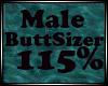 Male butt resizer 115%