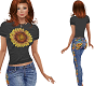 TF* Sunflowe Jean Outfit