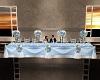 Sky Blue Bride's Table