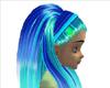 Samira multi aqua blue