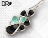 DR- smithsonite earrings
