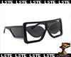 GCDS Black Glasses