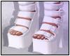 Aiko Boots White