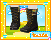 KID BLACK FALL BOOTS