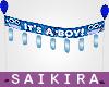 SK Owl BabyShower Banner