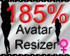 *M* Avatar Scaler 185%