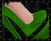 To Tease Green Heels