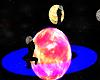 Saturn revolving planet