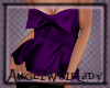 [A] Purple Bow Top