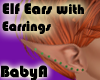 *BA Elf Ear Green Gems