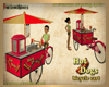 HotDog Bicycle cart