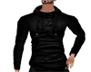 stylish black hoody