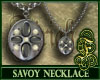 Savoy Necklace Gray
