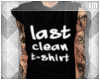 + T tank: Last clean one