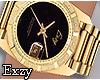 E! Gold Hand Watch.