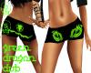 green dragon dub shorts