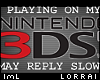 lmL Busy Playing - 3DS