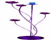 {AL} Purple Candle Stand
