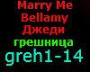 MARRY ME BELLAMY JEDY