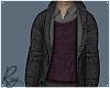 Wool Jacket Burgundy