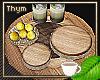 Tri-wood Drink Tray 1
