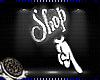 🦋 Shop Me Head Sign