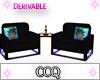 [CCQ]Double Chair Set
