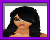 (sm)black long curls hai