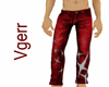 Sexy Red Jeans Animated