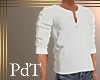 PdT Wht Thermal Henley M