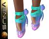 ~V~Unicorn Ballet Shoes