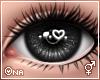 ! Black Sparkly Eyes F/M