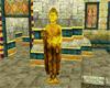 Gold Standing Buddha